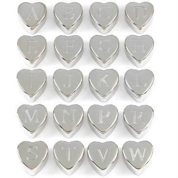 Velvet-Lined Monogram Heart BOXes (72)
