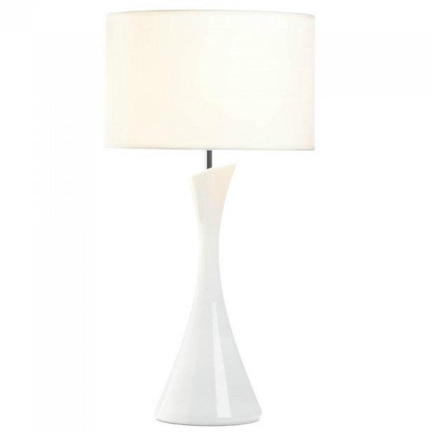 Sleek Modern Table LAMP - White